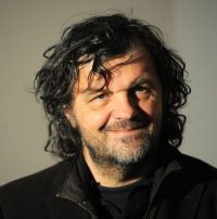 Emir Kusturica (Sarajevo, 24 november 1954) Filmmaker, actor and musician. He has been recognized for several internationally acclaimed feature films, he has twice won the Palme d'Or at Cannes.